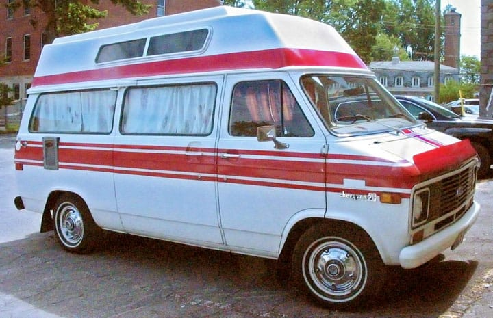 conversion van to live and travel in