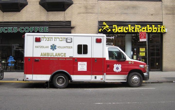 converted ambulance to travel