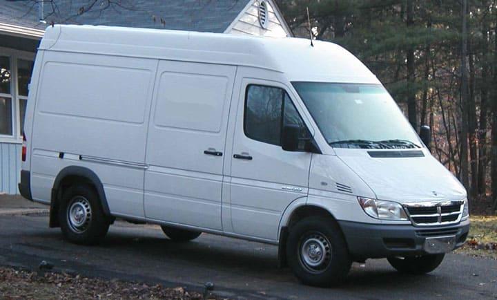 printer van to live in