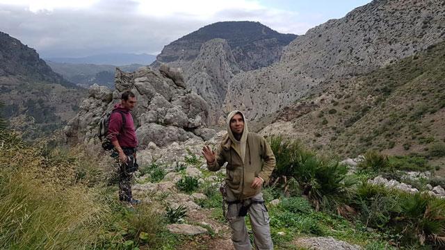 hiking in el chorro