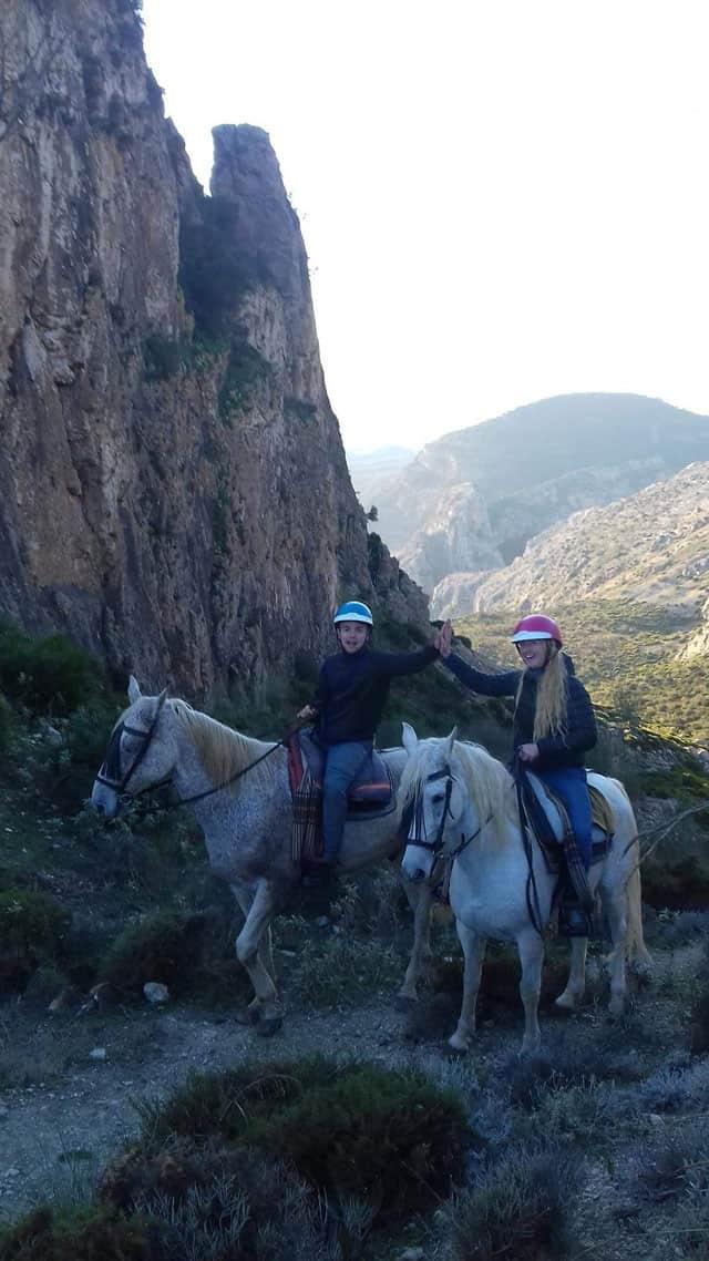 horseback riding el chorro