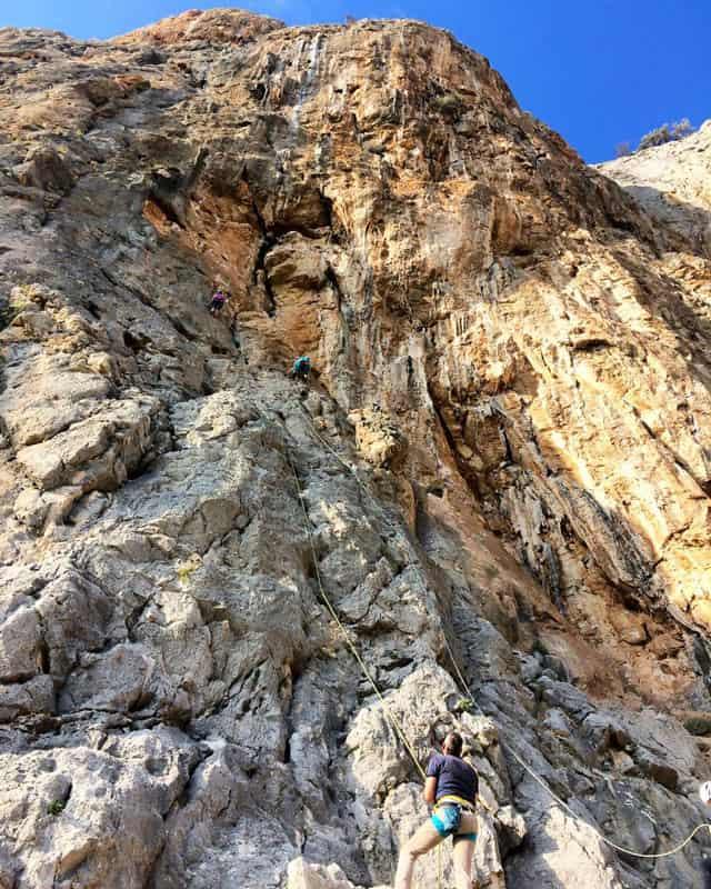 intermediate sport climbing spain