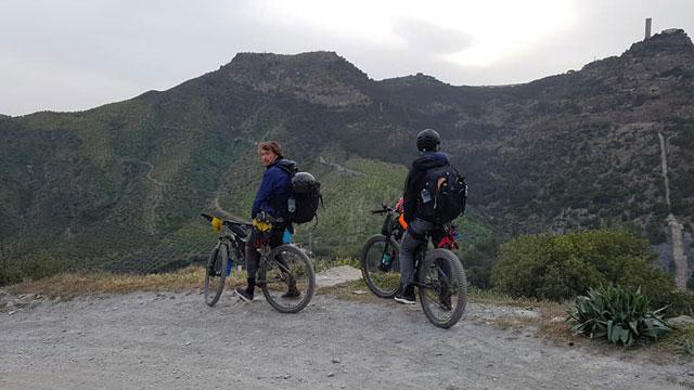 mountain biking in southern spain
