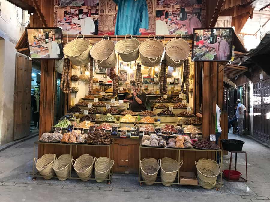 Marrakesh shopping in morocco