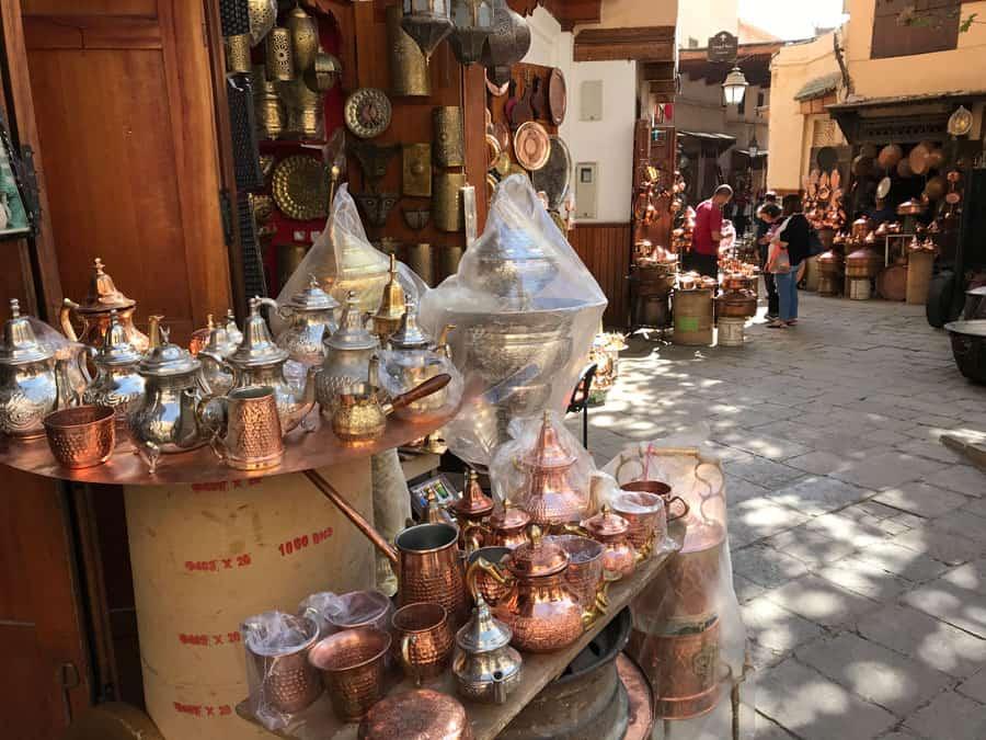 medina shopping morocco