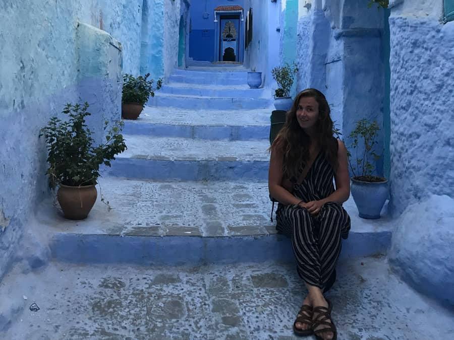 morocco woman traveling