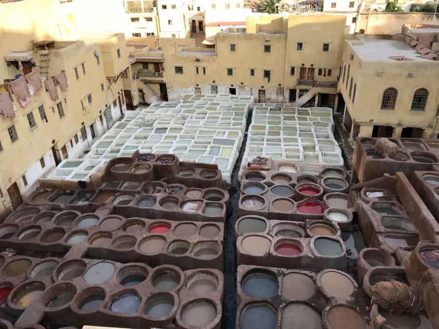tanneries fez morocco purchase