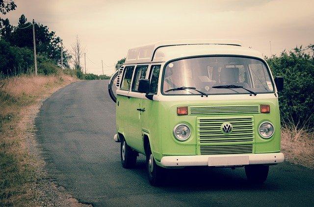 camper van for traveling