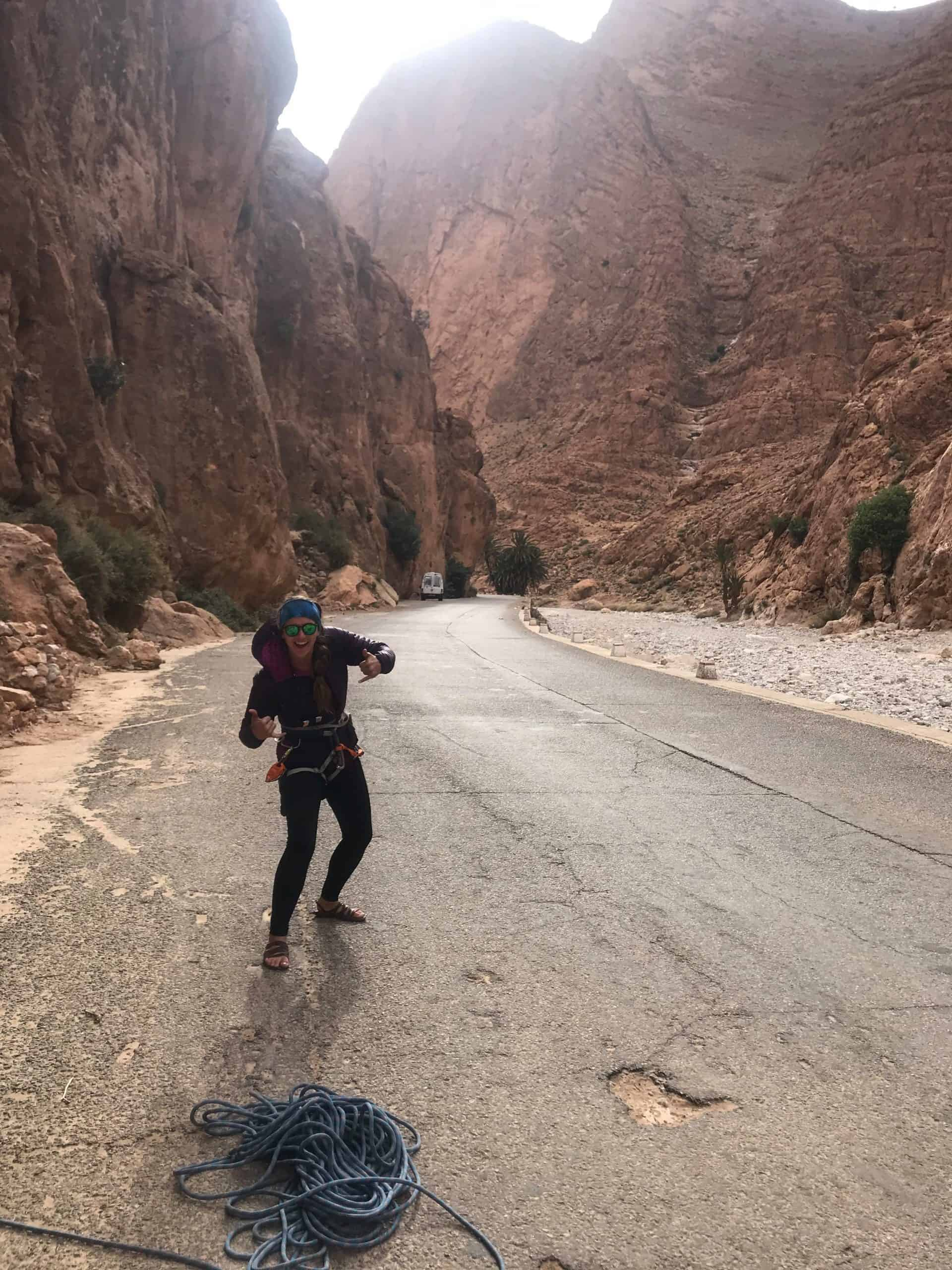 morocco woman travel
