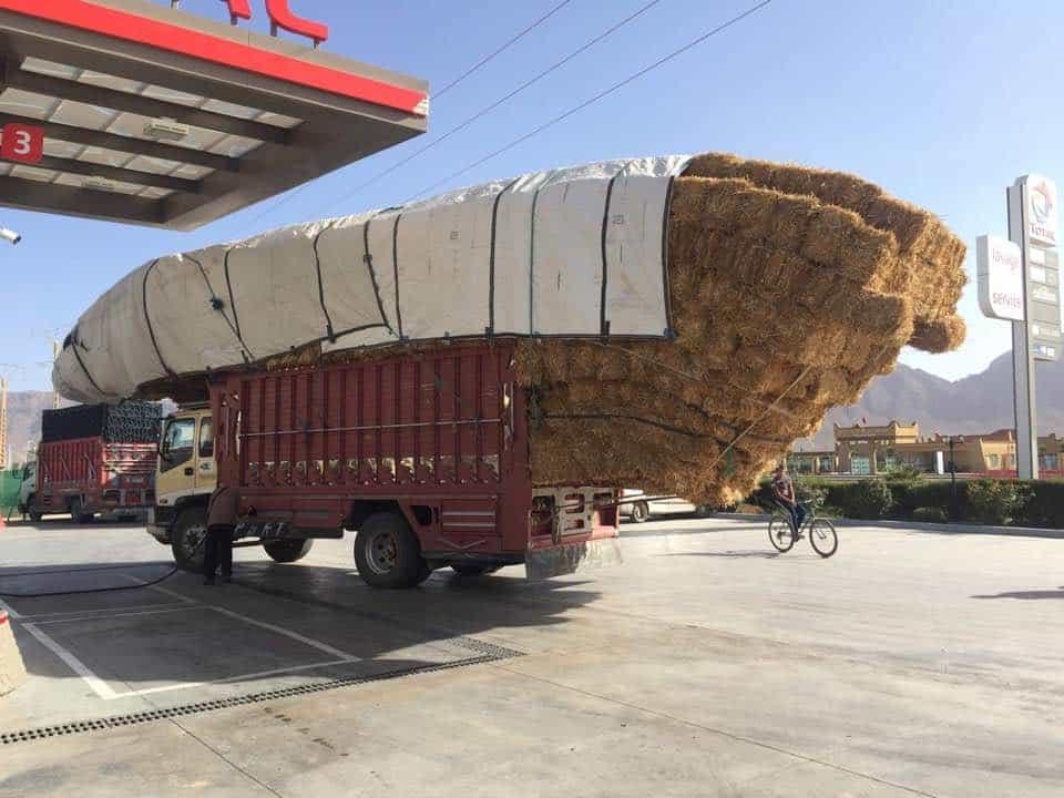 oversized trucks in africa