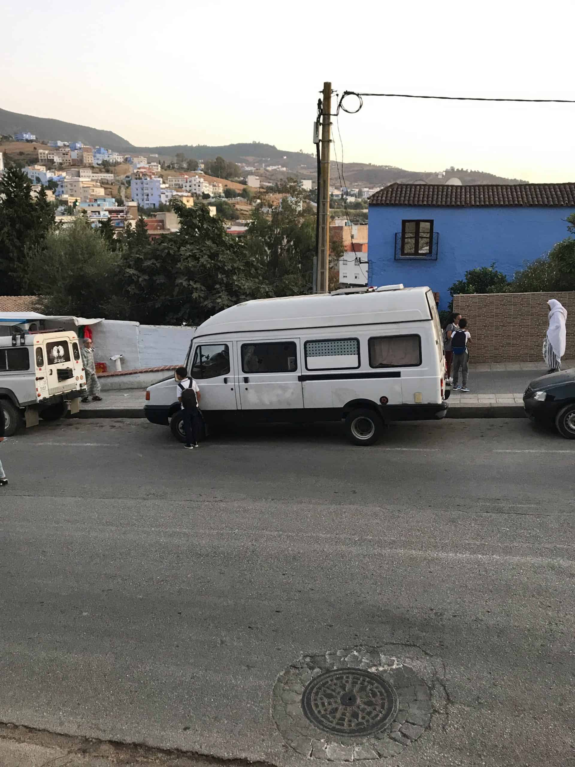 parking in morocco