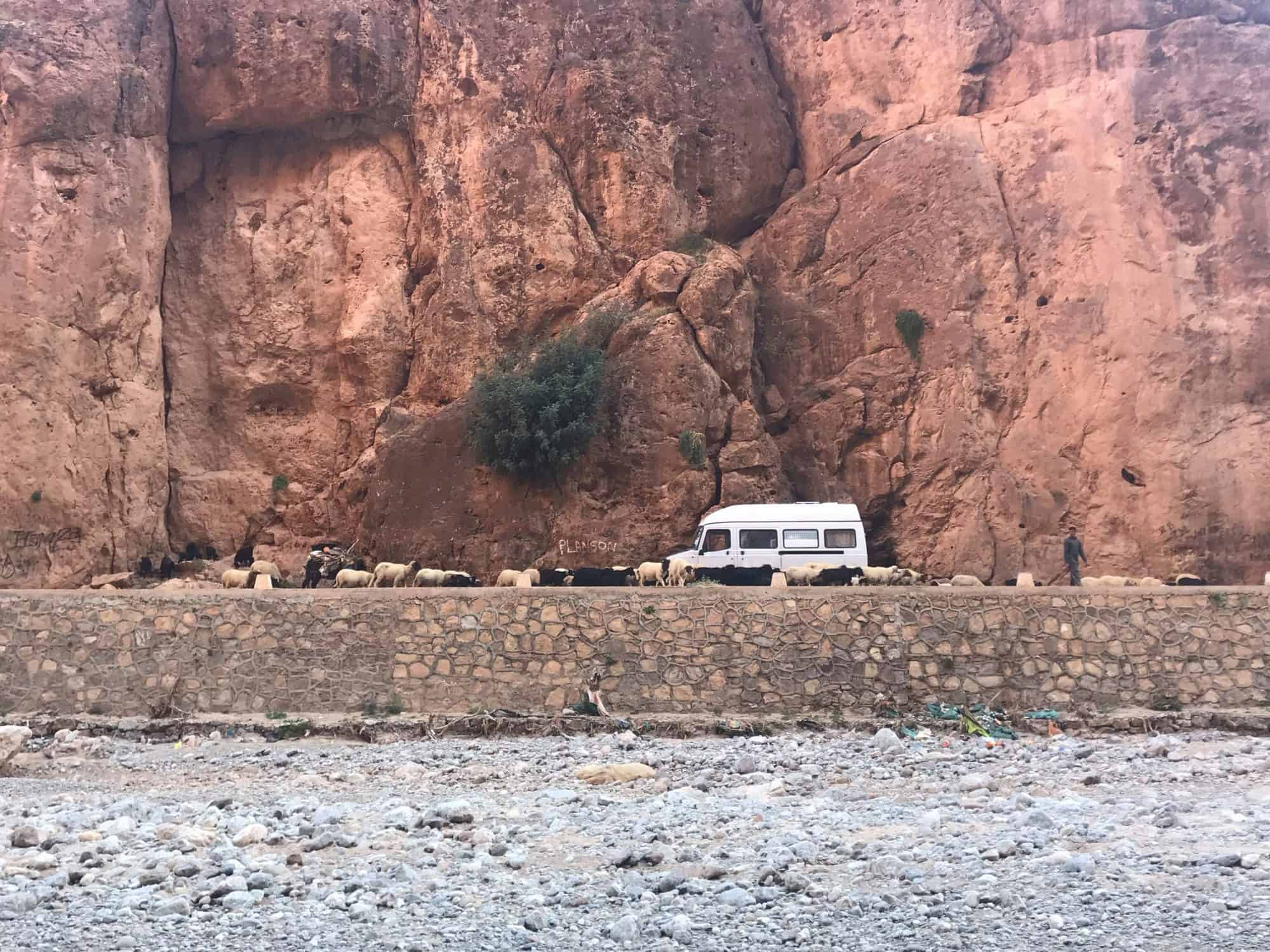 roads in morocco