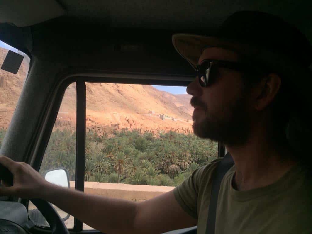 speeding ticket in morocco