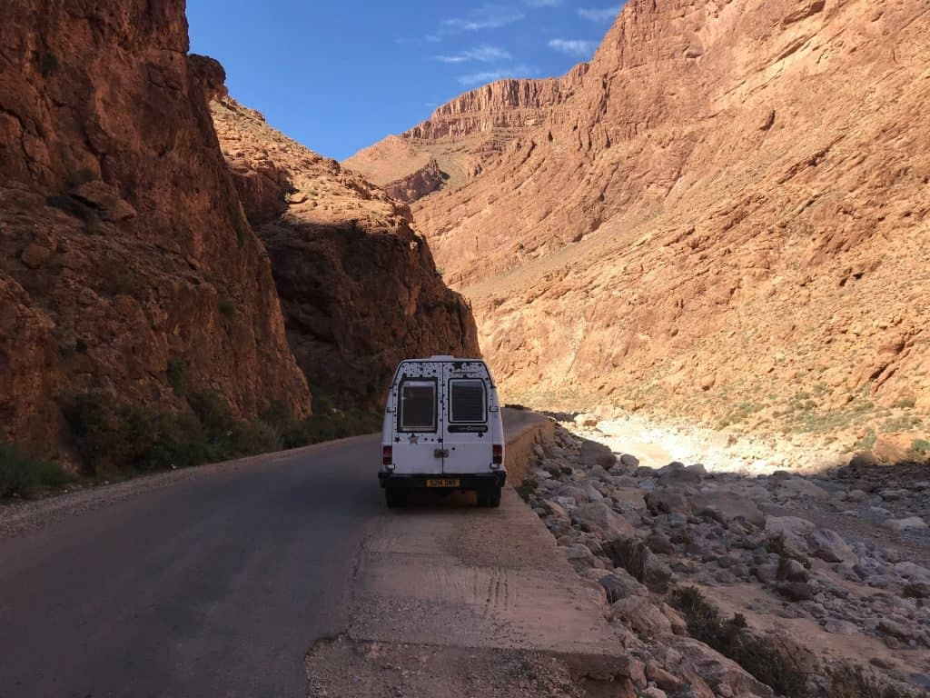 traveling morocco by van